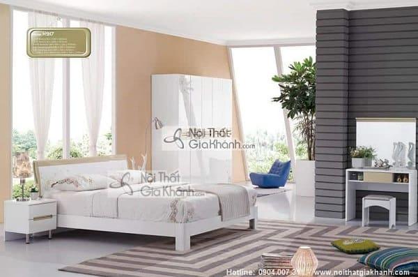 Mẫu giường hộp gỗ tự nhiên và giường kết hợp tủ đồ tiện lợi - mau giuong hop go tu nhien go cong nghiep cao cap 6