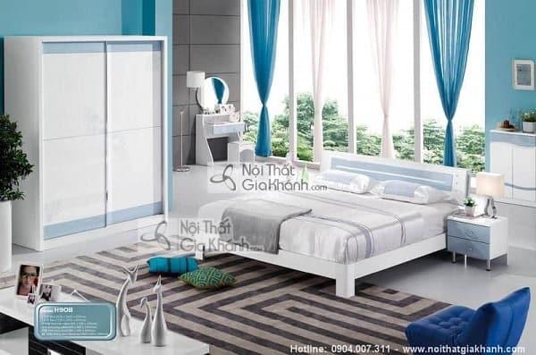 Mẫu giường hộp gỗ tự nhiên và giường kết hợp tủ đồ tiện lợi - mau giuong hop go tu nhien go cong nghiep cao cap 7