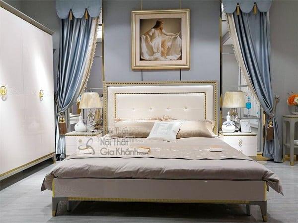 Mẫu giường ngủ gỗ công nghiệp hiện đại - mau giuong ngu go cong nghiep hien dai 1