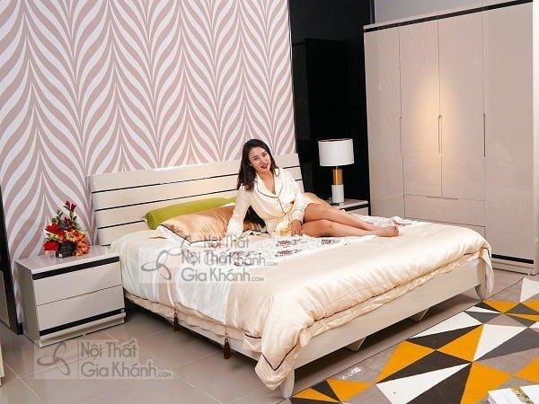Mẫu giường ngủ gỗ công nghiệp hiện đại - mau giuong ngu go cong nghiep hien dai
