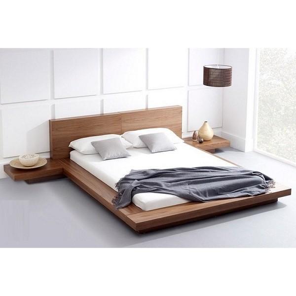 giường phản kiểu nhật bằng gỗ tiện lợi