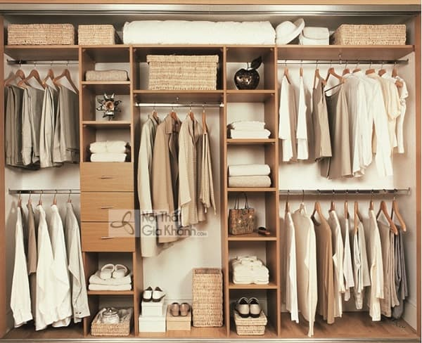 Mẫu tủ quần áo không cánh đẹp như của các sao Hollywood - mau tu quan ao khong canh