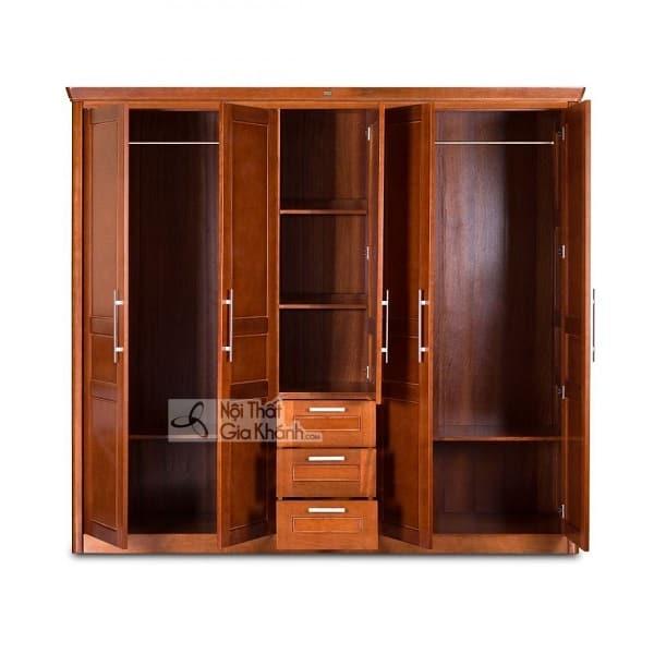 Tủ quần áo Đài Loan bằng gỗ vừa đẹp vừa bền - tu quan ao go dai loan 1