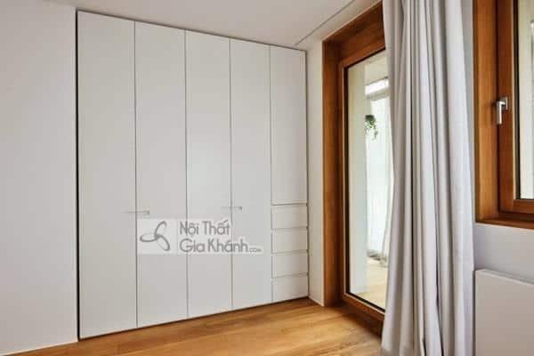 Tủ quần áo Đài Loan bằng gỗ vừa đẹp vừa bền - tu quan ao go dai loan 2