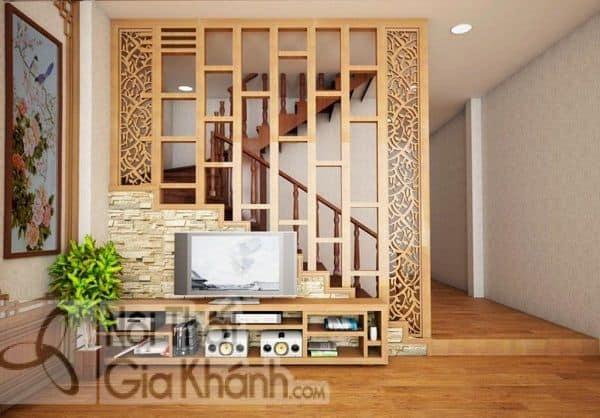 Tuyển tập mẫu vách ngăn cầu thang với phòng khách đẹp tinh tế - tuyen tap mau vach ngan cau thang voi phong khach dep tinh te 1