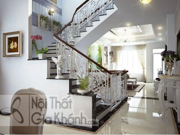 Tuyển tập mẫu vách ngăn cầu thang với phòng khách đẹp tinh tế