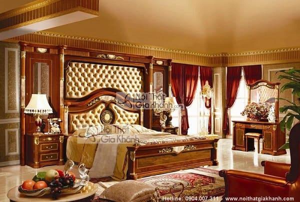 Bộ giường tủ gỗ tự nhiên bền và thẩm mỹ nhất - bo giuong tu go tu nhien ben va tham my nhat 3