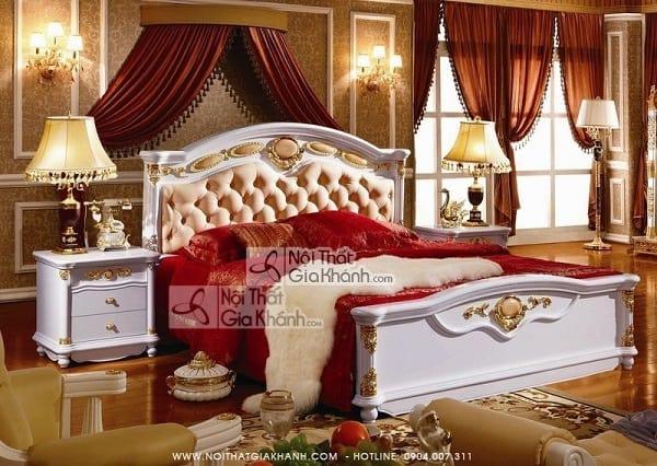 Bộ giường tủ gỗ tự nhiên bền và thẩm mỹ nhất - bo giuong tu go tu nhien ben va tham my nhat 4