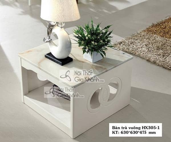 Có nên sử dụng bàn trà (bàn sofa) vuông cho phòng khách hiện đại - co nen su dung ban tra ban sofa vuong cho phong khach hien dai 1