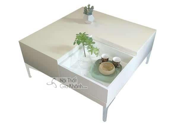 Có nên sử dụng bàn trà (bàn sofa) vuông cho phòng khách hiện đại - co nen su dung ban tra ban sofa vuong cho phong khach hien dai 5