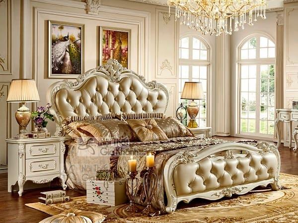 Giường ngủ gỗ sồi đẹp giảm giá ngay khi đặt hôm nay
