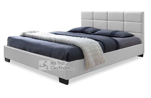 chiếc giường trắng đẹp đơn giản