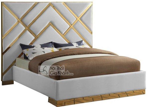 giường trắng có thiết kế nổi bật