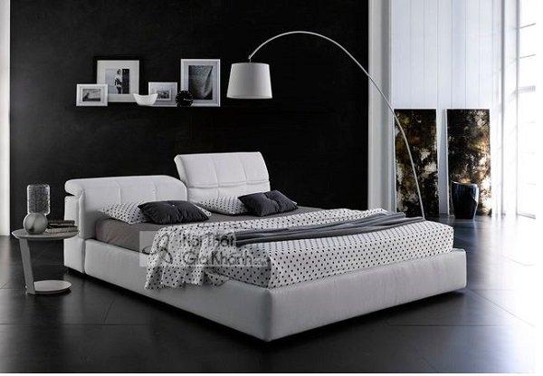 giường ngủ trắng phá cách