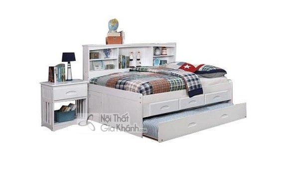 giường ngủ trắng đa năng