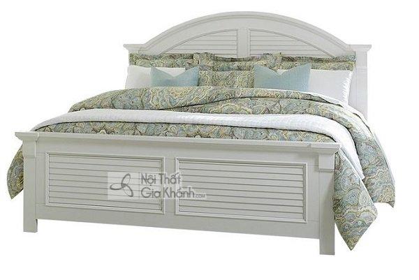 giường màu trắng đẹp mắt