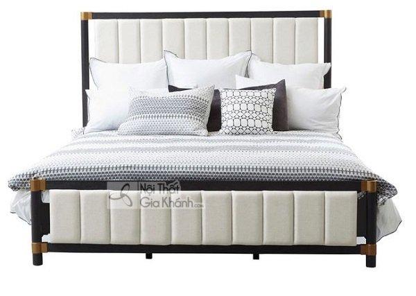 giường ngủ màu trắng đẳng cấp