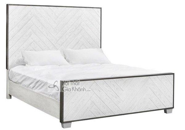 bộ giường trắng vô cùng bắt mắt