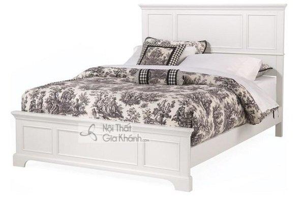 giường ngủ trắng vững chắc