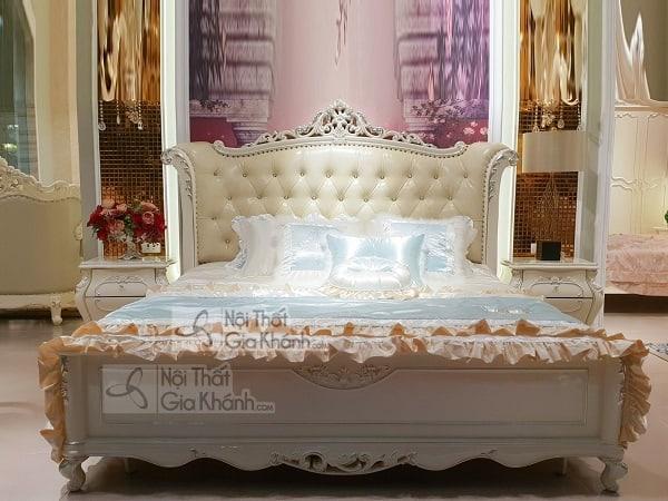 Mẫu giường cưới cao cấp đẹp - mau giuong cuoi cao cap dep 5