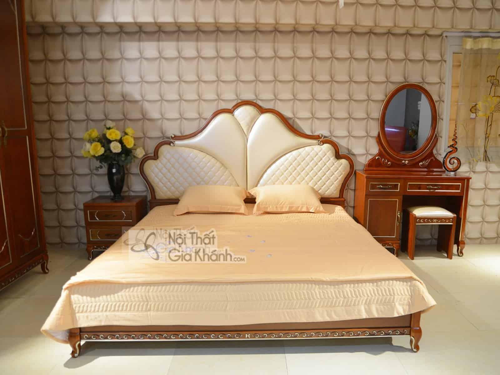 Mẫu giường ngủ 1m8 thiết kế đa năng, thông minh - mau giuong ngu 1m8 thiet ke da nang thong minh