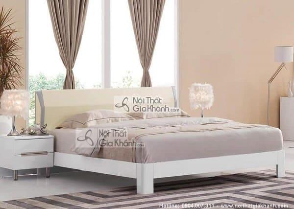 Mẫu giường ngủ chung cư đẹp - mau giuong ngu chung cu dep 1