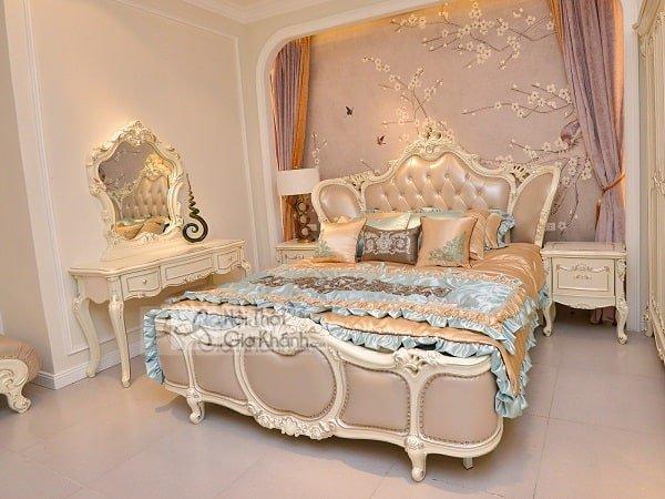 Mẫu gường cưới bằng gỗ tự nhiên đẹp xuất sắc - mau guong cuoi bang go tu nhien dep xuat sac