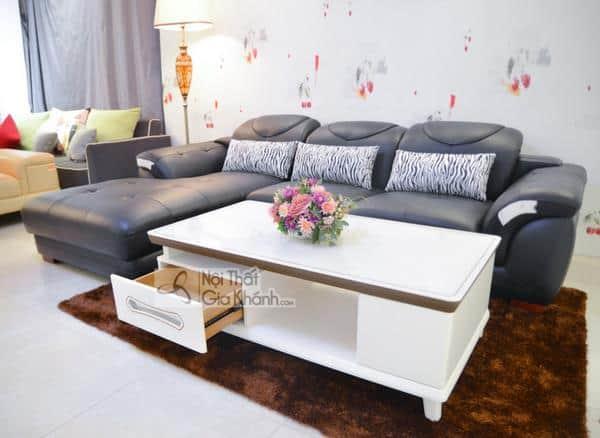 Những mẫu bàn sofa kính cường lực đẹp nhất 2019 - nhung mau ban sofa kinh cuong luc dep nhat 2019