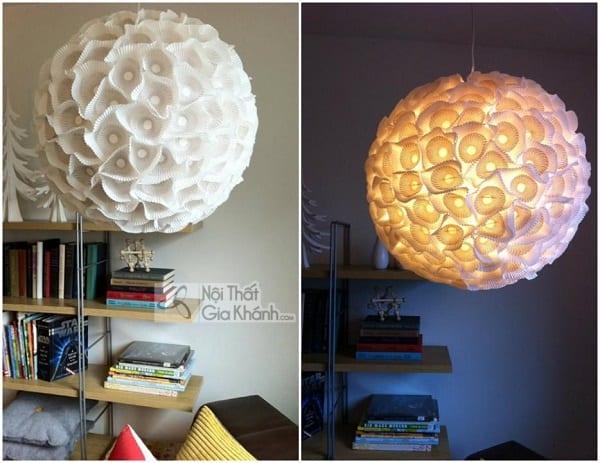 """Ý tưởng tự làm đèn trang trí từ những vật liệu là """"đồ bỏ đi"""""""