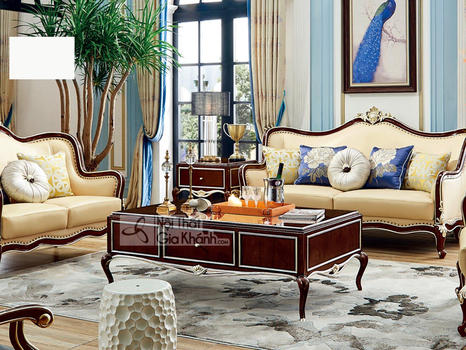 Bộ nội thất phòng khách tân cổ điển nhập khẩu PK311