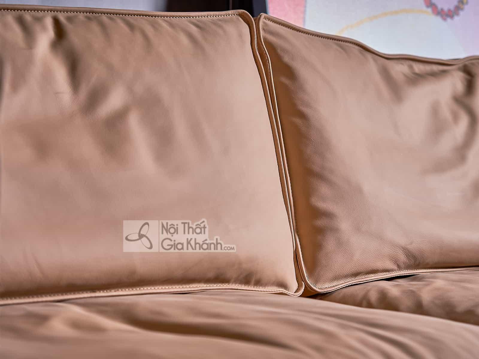 Bộ sofa da nhập khẩu hiện đại SB1905T50-13