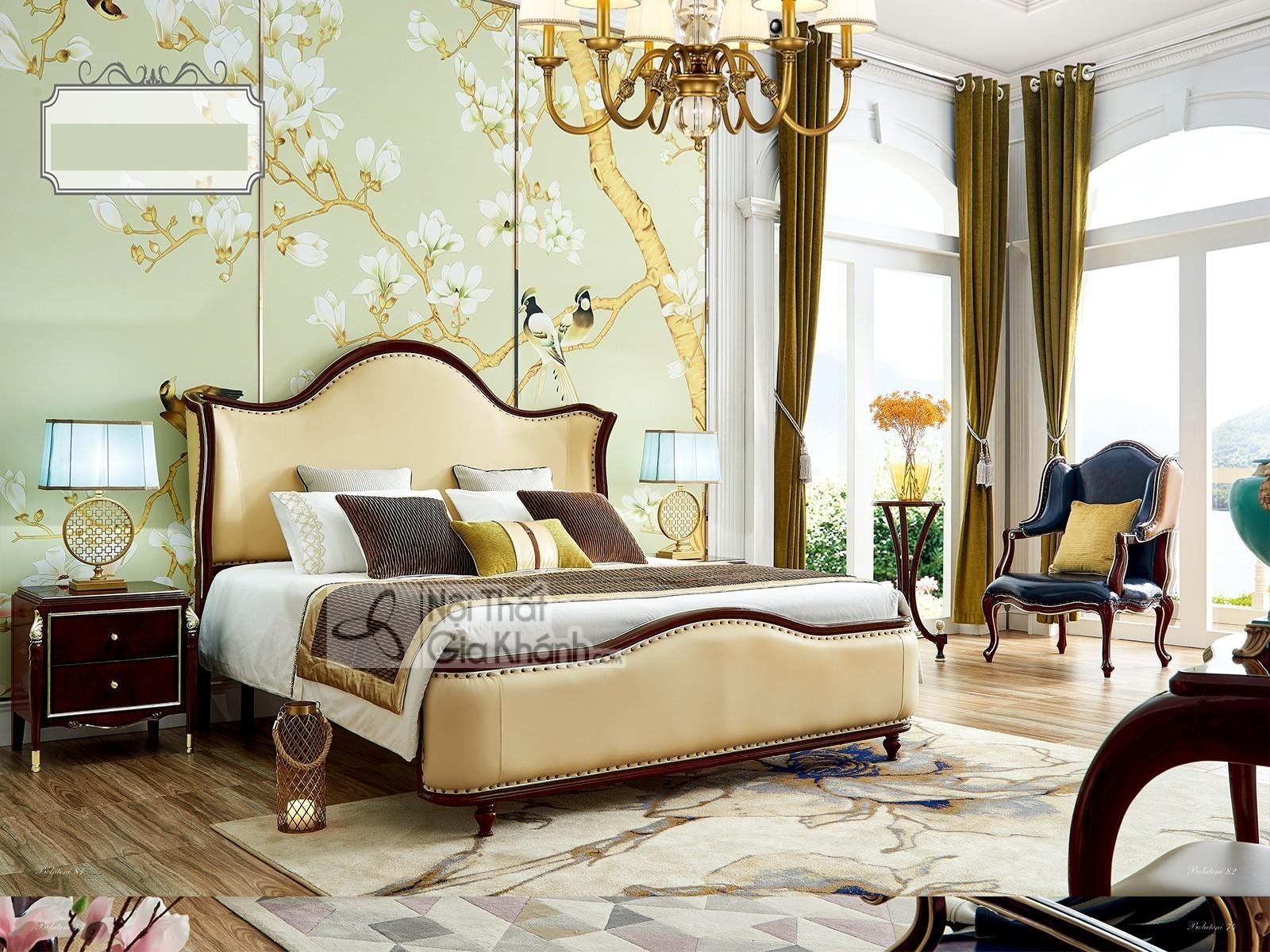 tap dau giuong go tan co dien mbk301b 1 - Tủ đầu giường gỗ đẹp phong cách tân cổ điển TA301