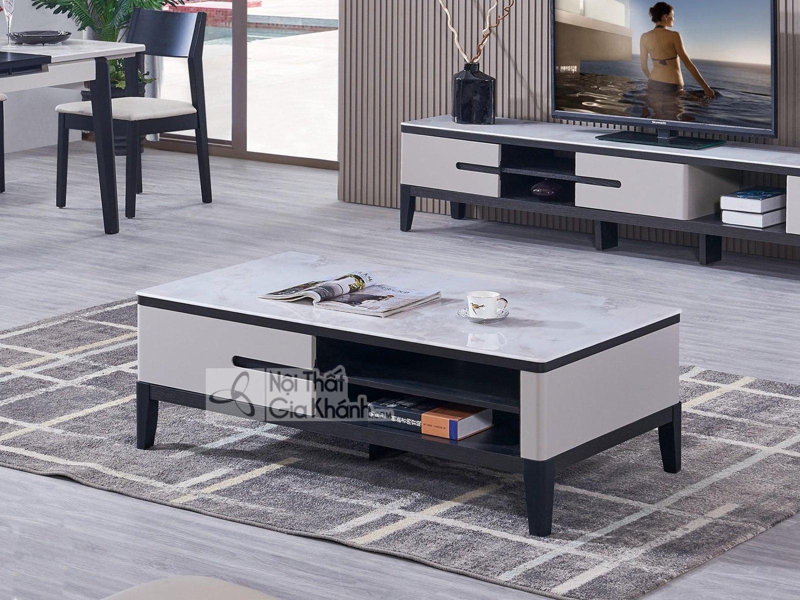 Bàn sofa cho phòng khách nhập khẩu BT5909-2D-128