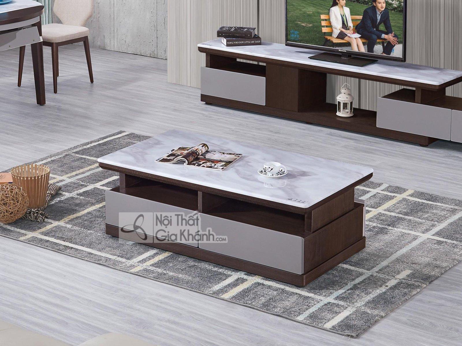 Bàn trà sofa phong cách hiện đại BT5903-2D-128