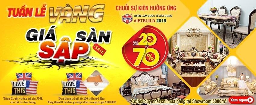 NỘI THẤT GIA KHÁNH THAM DỰ TRIỂN LÃM VIETBUILD 2019 LẦN 3 TẠI HÀ NỘI - noi that gia khanh tham du trien lam vietbuild 2019 lan 3 tai ha noi