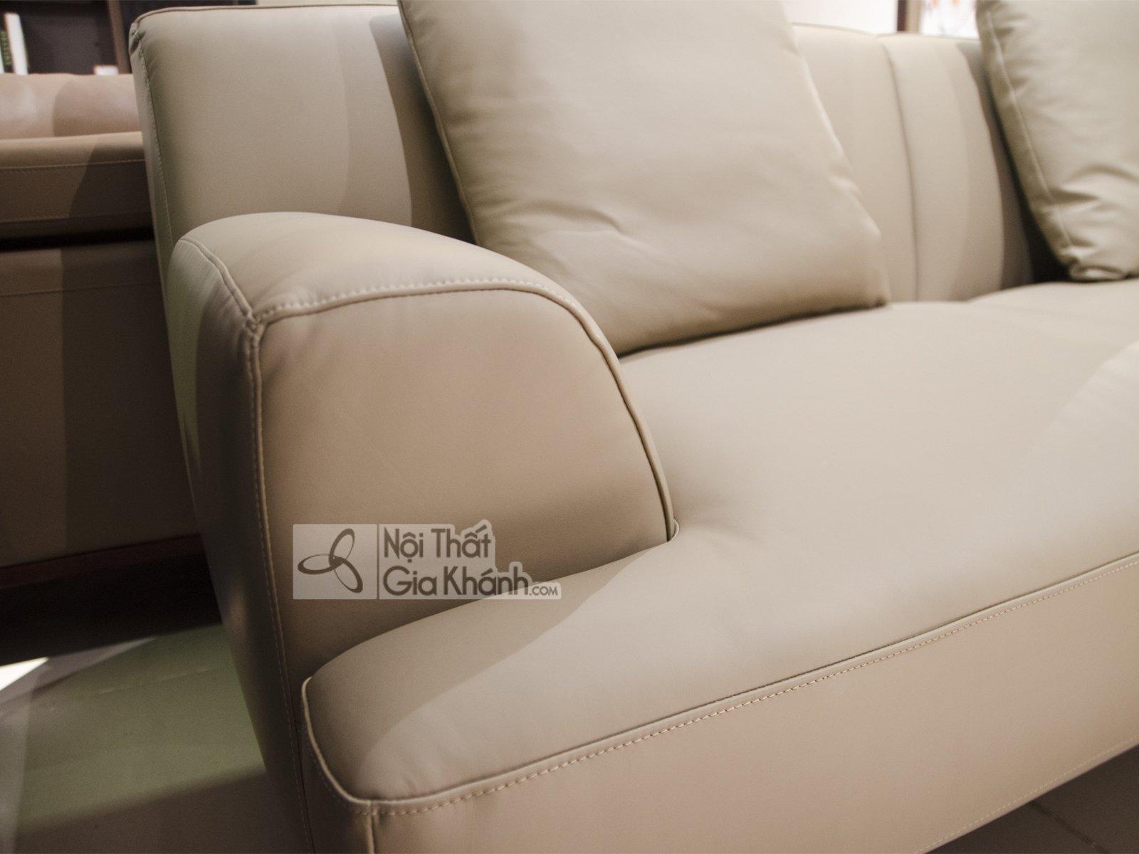 SOFA DA 2 BĂNG GÓC TRÁI PHONG CÁCH HIỆN ĐẠI MBK8037GT - sofa da phong cach hien dai mbk 8037sf 4