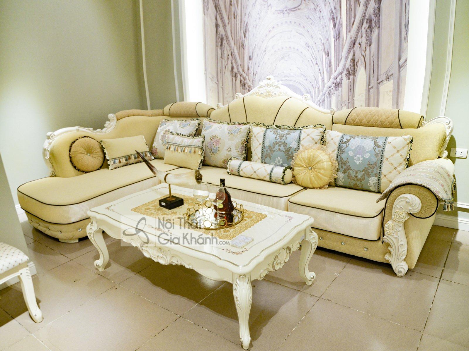 Sofa tối giản - Phong cách sofa Minimalism đang làm bá chủ thế giới! - bo sofa ni goc phai tan co dien a58 gp