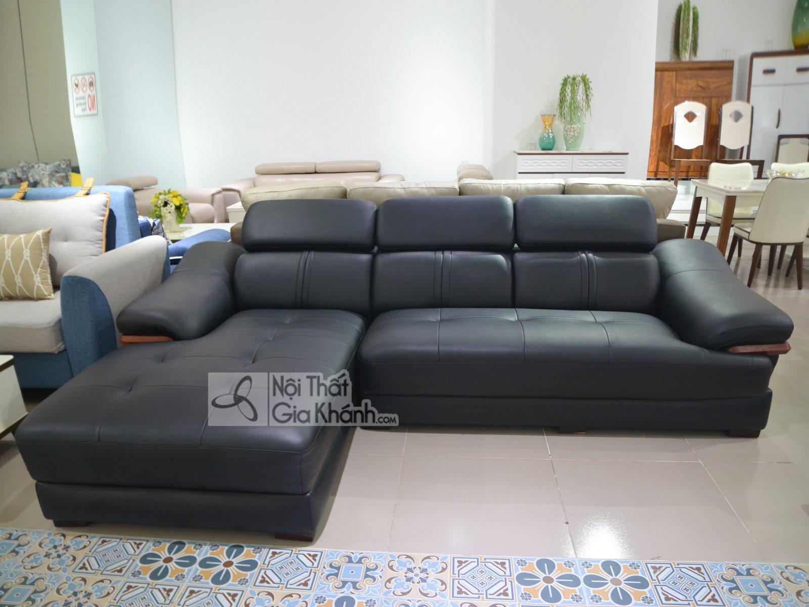 Sofa da 2 băng góc phải SP0672-2-C1
