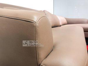 Nội thất nhập khẩu khuyến mại, giảm giá - sofa da hien dai 2 bang cho phong khach 1607sf 2 300x225
