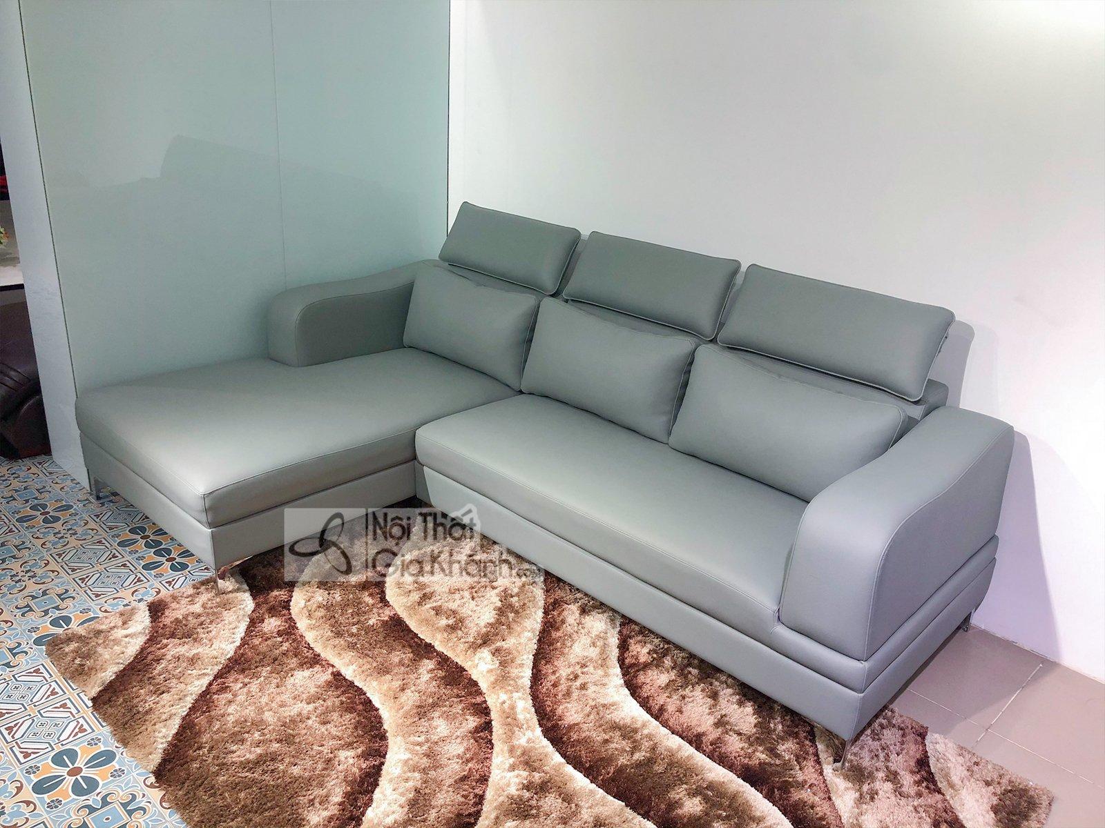 Sofa da đẹp cho phòng khách SP0820-2-G1
