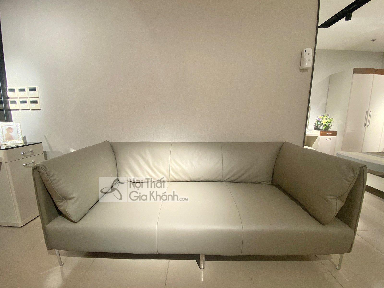 Sofa da nhập khẩu phong cách Ý SB8058T-3