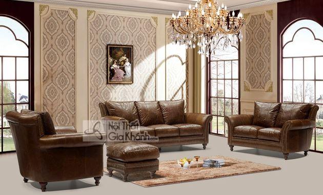 50+ mẫu sofa da thật nhập khẩu đẹp và bền bỉ nhất - 50 mau sofa da that nhap khau dep va ben bi nhat 26