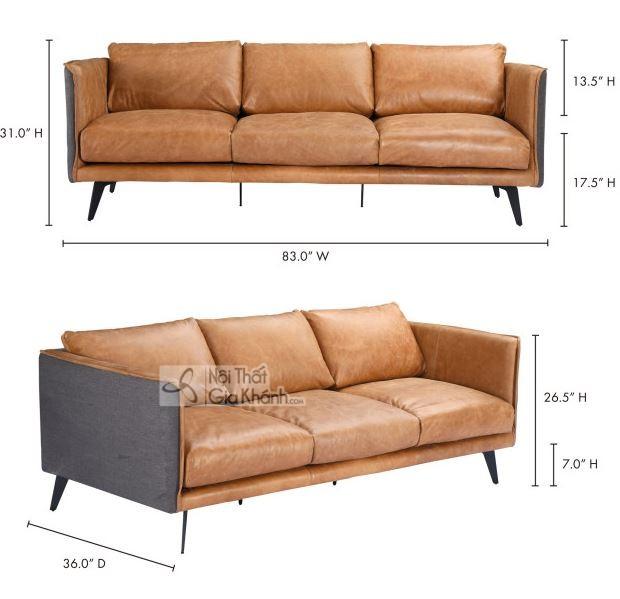 50+ mẫu sofa da thật nhập khẩu đẹp và bền bỉ nhất - 50 mau sofa da that nhap khau dep va ben bi nhat 49