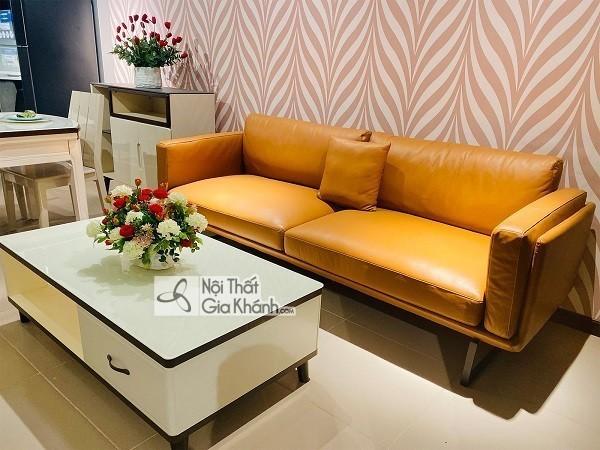 50+ mẫu sofa da thật nhập khẩu đẹp và bền bỉ nhất - 50 mau sofa da that nhap khau dep va ben bi nhat 9