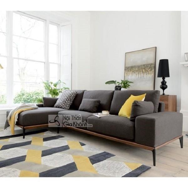 50+ mẫu sofa màu ghi xám trẻ trung cho mọi không gian - 50 mau sofa mau ghi xam tre trung cho moi khong gian 6