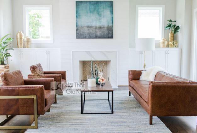 50+ Bộ ghế sofa phòng khách đẹp cao cấp và bán chạy hàng đầu - 50 mau sofa phong khach co san ban chay hang dau 26