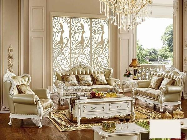 Sofa da hay nỉ sẽ lý tưởng cho trang trí phòng khách? - sofa da hay ni se ly tuong cho can phong khach 1