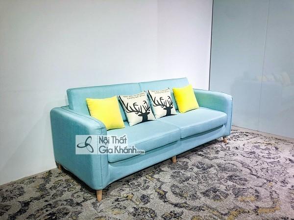 Sofa da hay nỉ sẽ lý tưởng cho trang trí phòng khách? - sofa da hay ni se ly tuong cho can phong khach 2