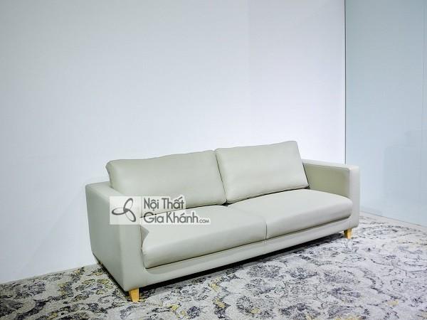 Sofa da hay nỉ sẽ lý tưởng cho trang trí phòng khách? - sofa da hay ni se ly tuong cho can phong khach 3