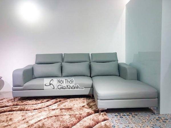 Sofa da hay nỉ sẽ lý tưởng cho trang trí phòng khách? - sofa da hay ni se ly tuong cho can phong khach 4